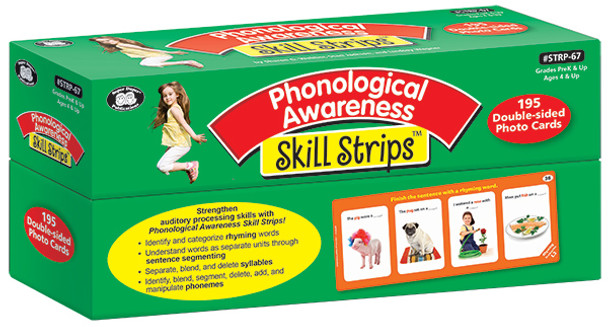 Phonological Awareness Skill Strips