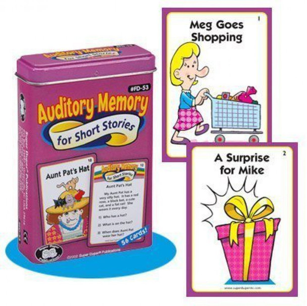 Auditory Memory for Short Stories