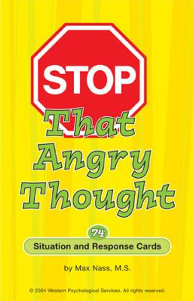 Stop That Angry Thought Card Game