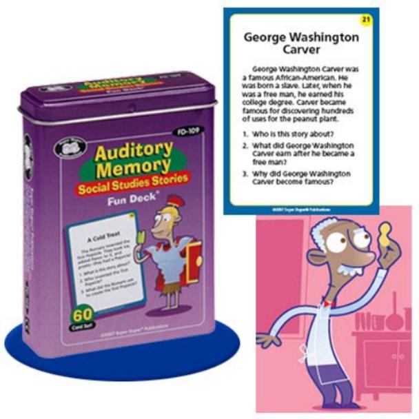 Auditory Memory Social Studies