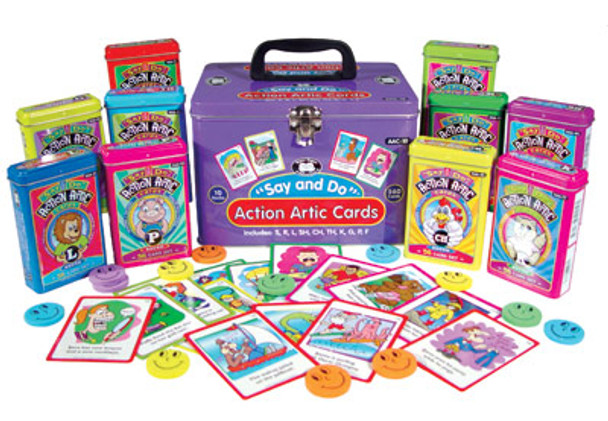 Say and Do Action Artic Cards Complete Set