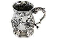 Silver-Plate Mug