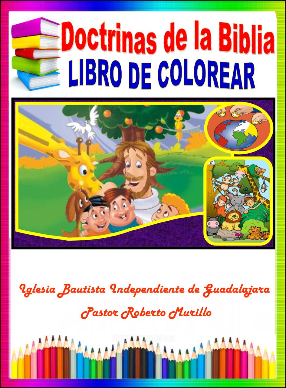 Doctrinas de la Biblia. Libro para colorear. 26 Hojas