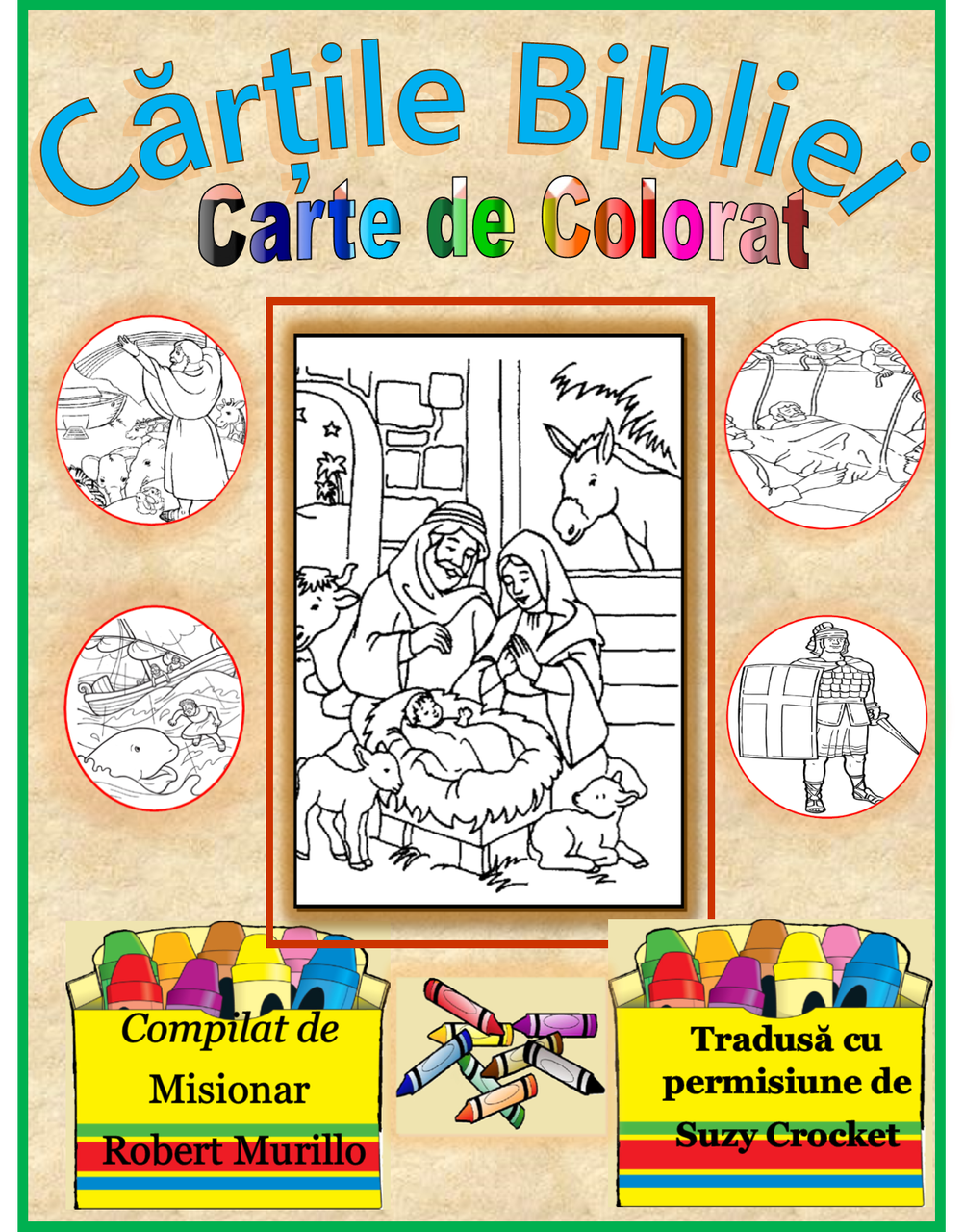 Books of the Bible Coloring Book Romanian - LAMB PUBLICATIONS ...