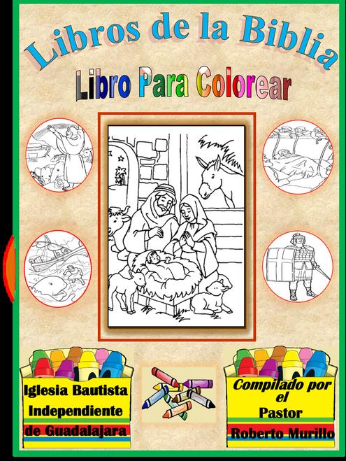 Libros de la Biblia. Libro para colorear. 66 Hojas - LAMB ...