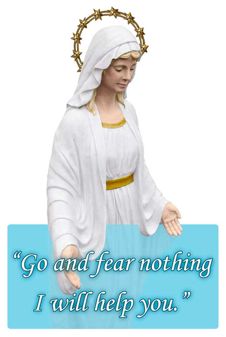 Our Lady of Good Help Visor Clip