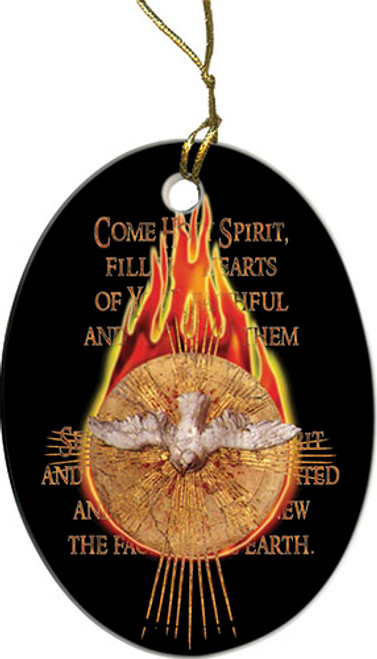 Holy Spirit Fire Ornament