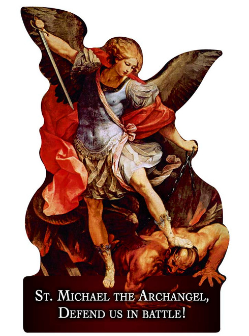 St. Michael the Archangel Visor Clip