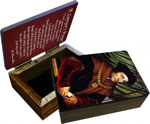 St. Thomas More Keepsake Box