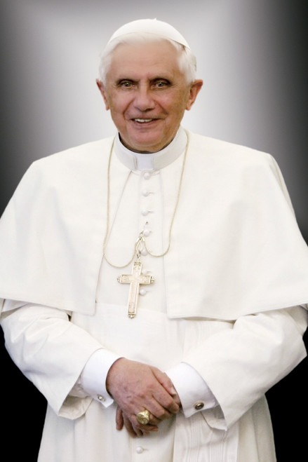 Pope Benedict XVI Formal Portrait Holy Card