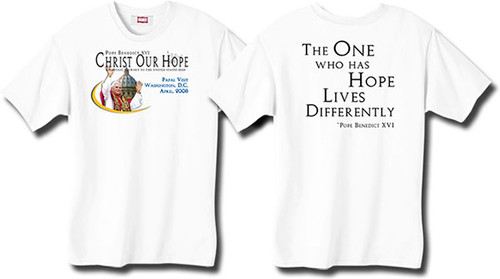 """One Who Has Hope"" Pope Kids T-shirt"