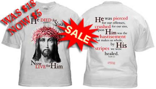 He Died T-shirt