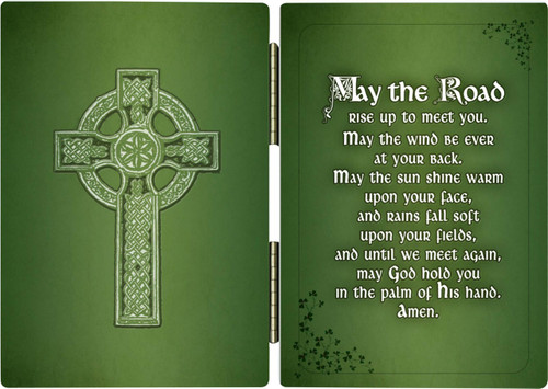 Irish Blessing Diptych