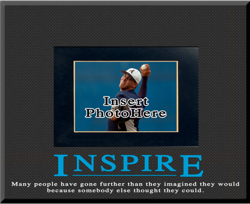 """""""Inspire"""" Picture Frame"""