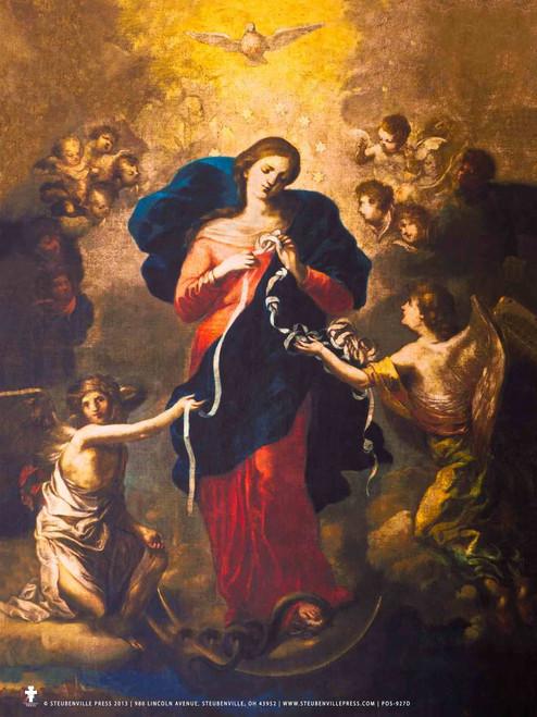 Mary Undoer of Knots Poster