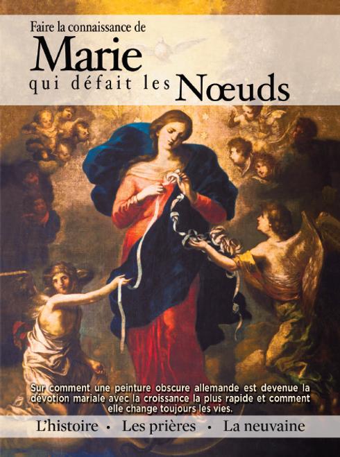 French Mary Undoer of Knots Novena Prayer Booklet