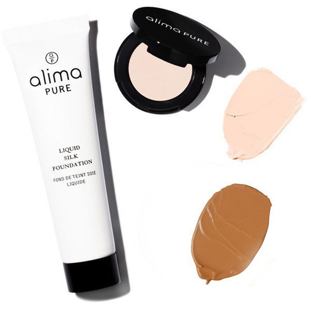 Liquid Silk Foundation + Cream Concealer