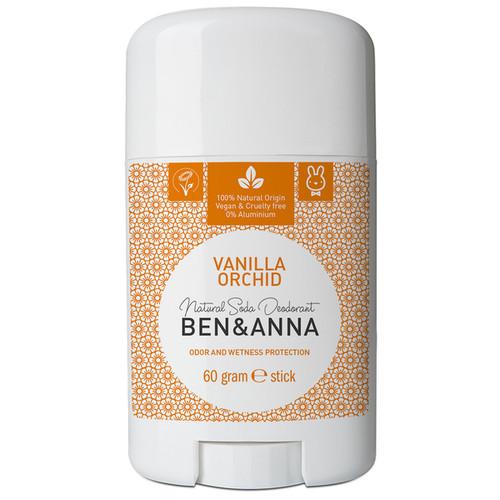Natural Soda Deodorant Stick - Vanilla Orchid 60g
