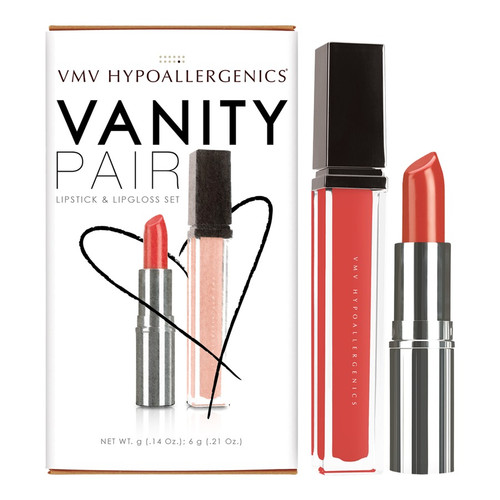 Vanity Pair-  Bright Red
