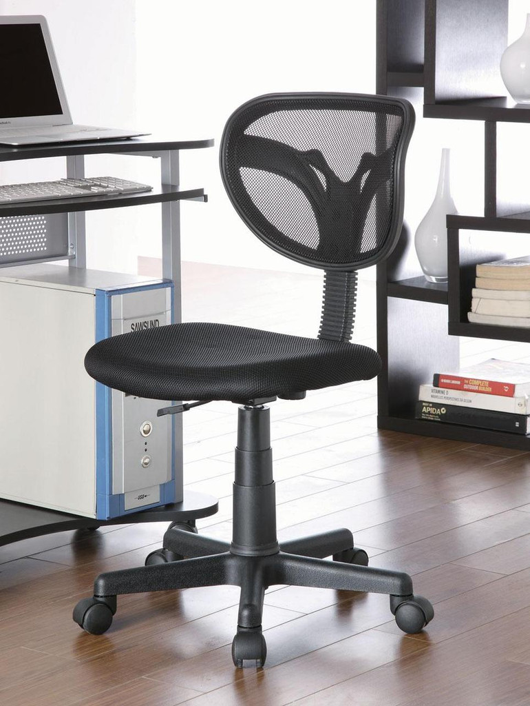 Mesh Styled Task Chair in Black