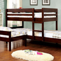 The Raford Triple Corner Bunk