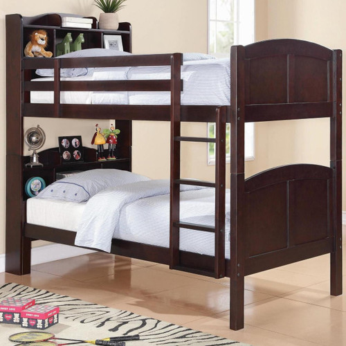 Parker Bookcase Bunk Bed