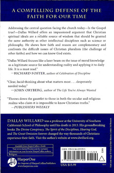 Knowing Christ today - Dallas Willard