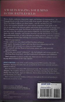 Battlefield of the Mind - Joyce Meyer (includes study guide).