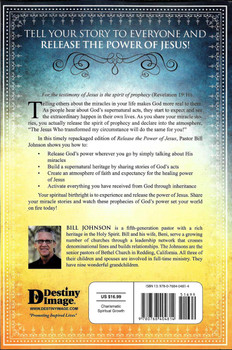Releasing the Spirit of Prophecy: The Supernatural Power of Testimony - Bill Johnson
