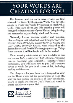 God's Creative Power, Gift Edition - Charles Capp.