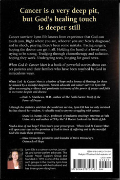 When God and Cancer Meet: True Stories of Hope and Healing - Lynn Eib