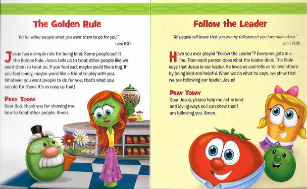 VEGGIETALES - Very Veggie Devos for Little Ones.