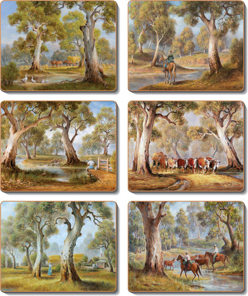 Redgum Country Coasters