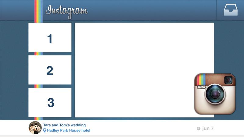 Instagram Screen - 3 Images