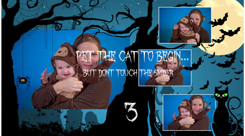 Halloween Touch ScreenTemplates 3Images