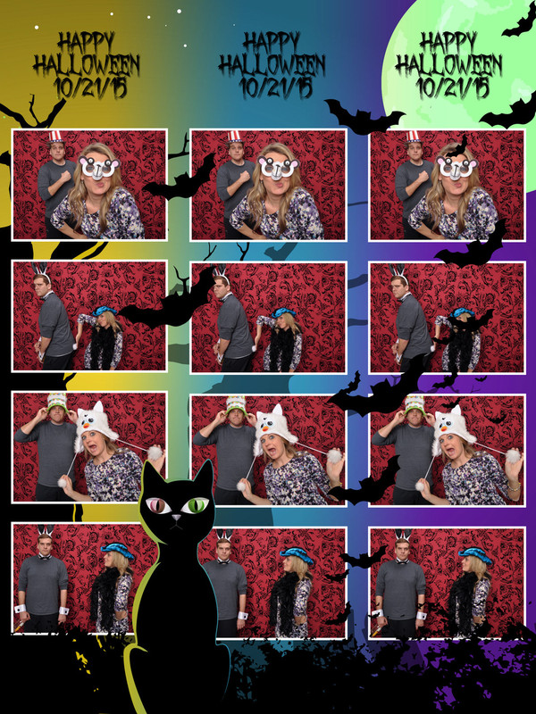 Halloween 6x8 Print Template - 4Images Vertical