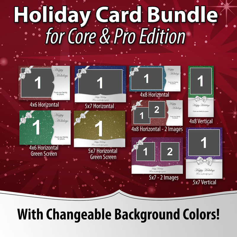 Holiday Card Bundle for Darkroom Core Edition