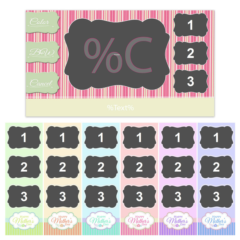 Mother's Day Bundle- 2x6 Color Chooser Bundle