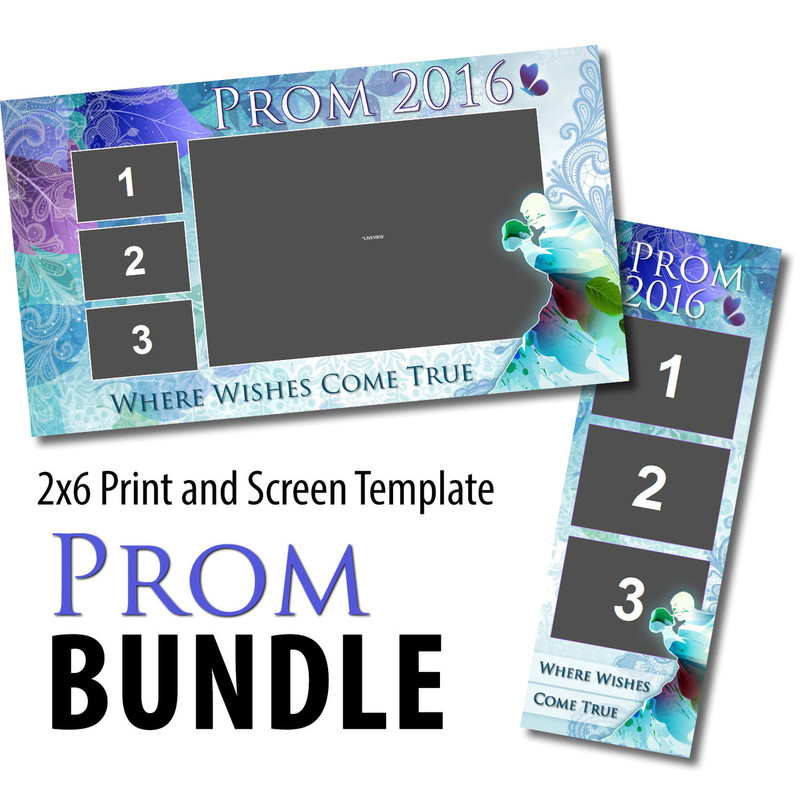 Prom Bundle 03- 2x6 Print and Screen Template