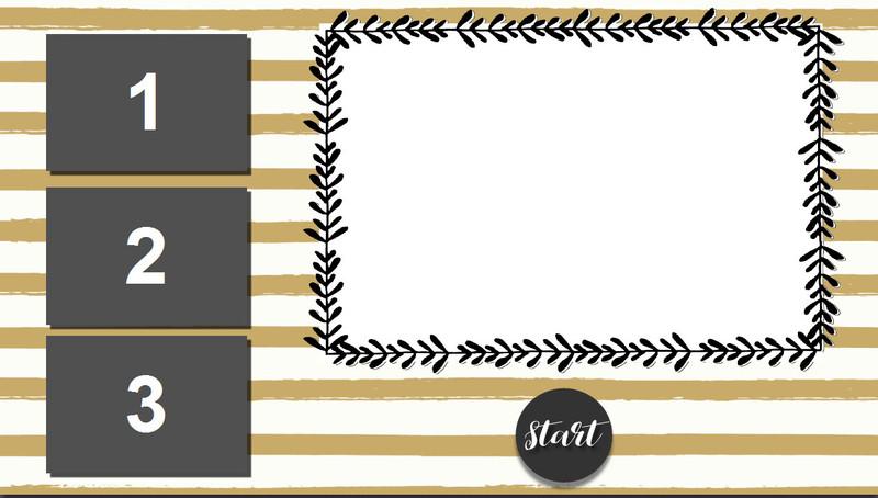 Golden Screen Template Bundle