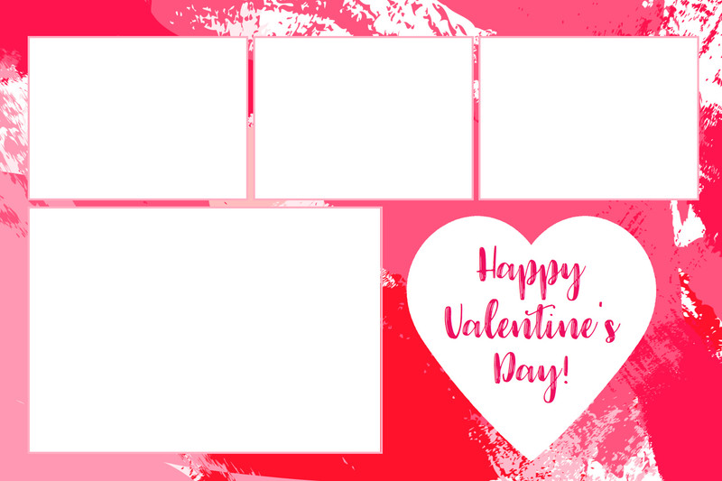 Happy Valentines Day Print and Screen Bundle