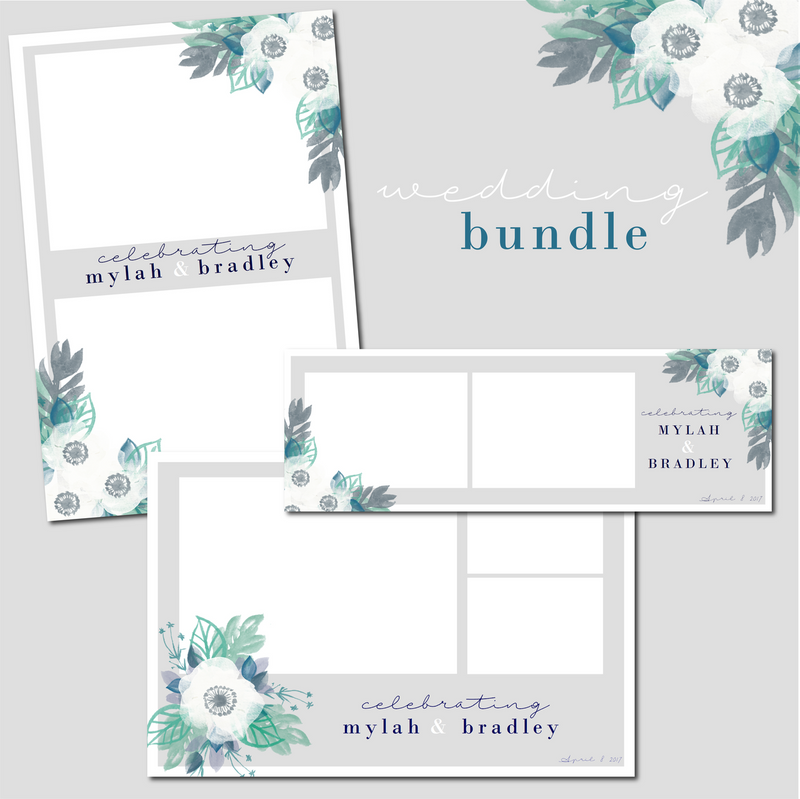 White Floral Wedding Bundle