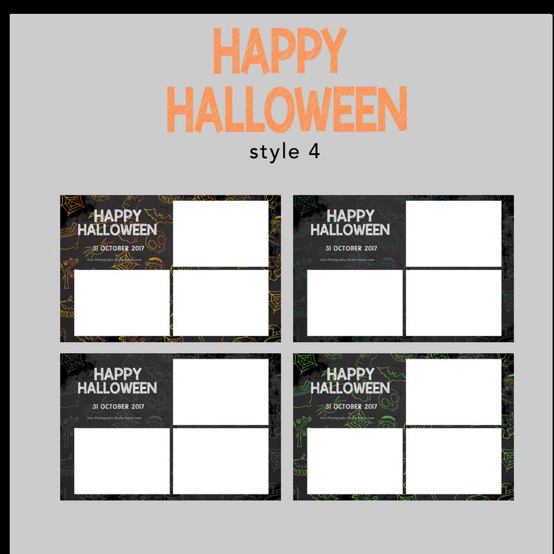 The Photopod Company - Halloween 4x6 Style 4
