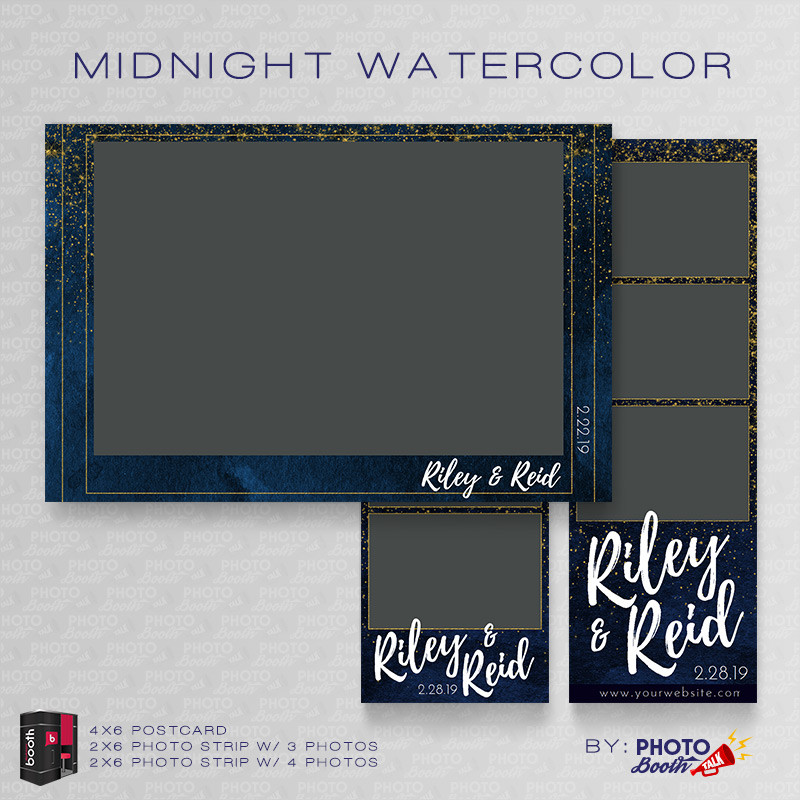 Midnight Watercolor Bundle - CI Creative