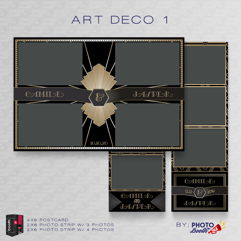 Art Deco 1 Bundle - CI Creative