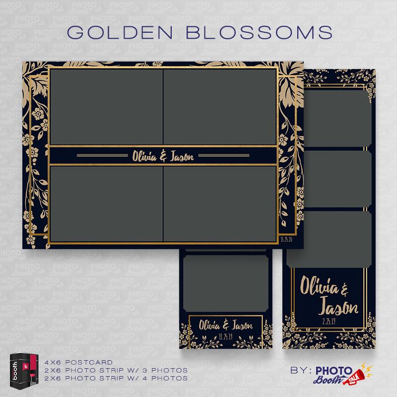 Golden Blossoms Bundle - CI Creative