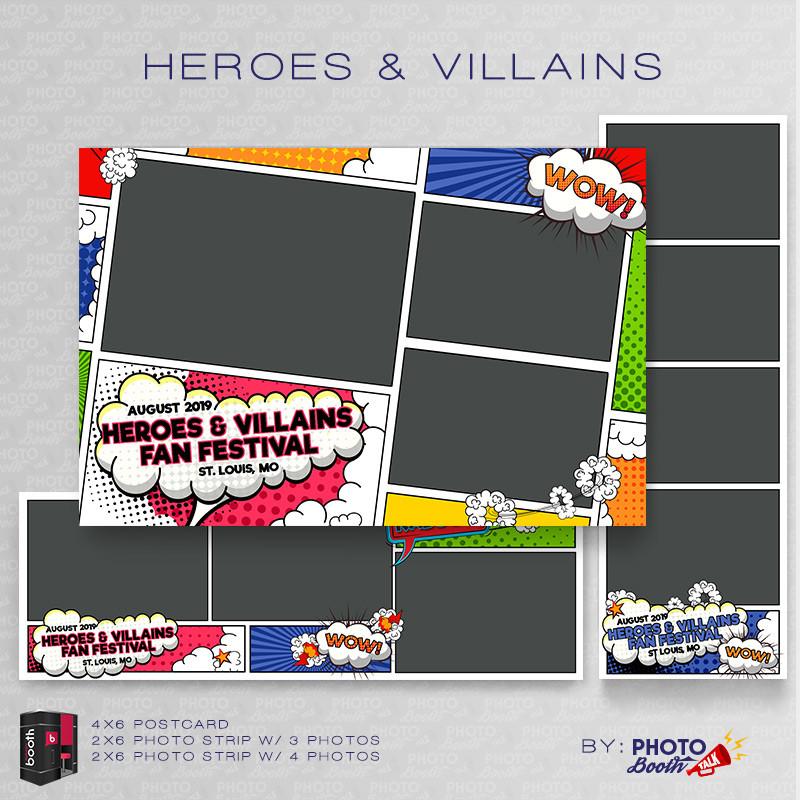 Heroes and Villians Bundle - CI Creative