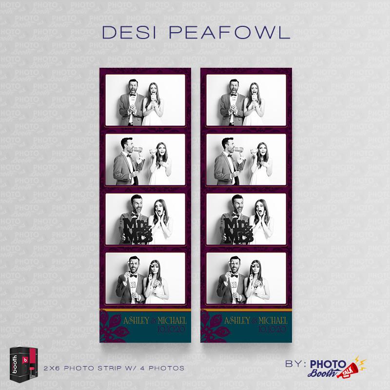 Desi Peafowl 2x6 4Image - CI Creative