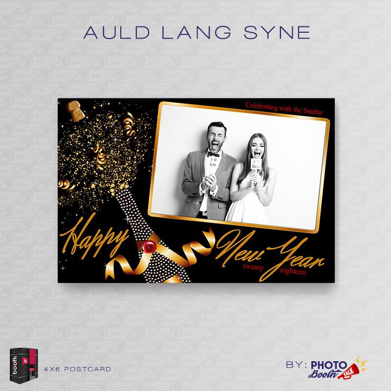 Auld Lang Syne 4x6 - CI Creative