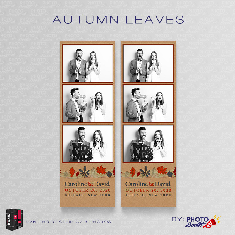 Autumn Leaves 2x6 3Images - CI Creative